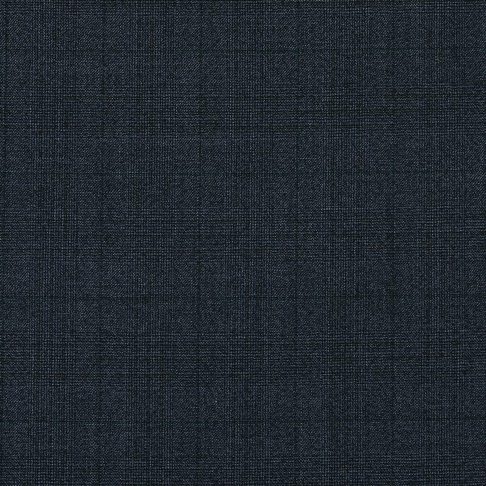 15024 Blue Grey Hopsack Glen Check with Green Overcheck