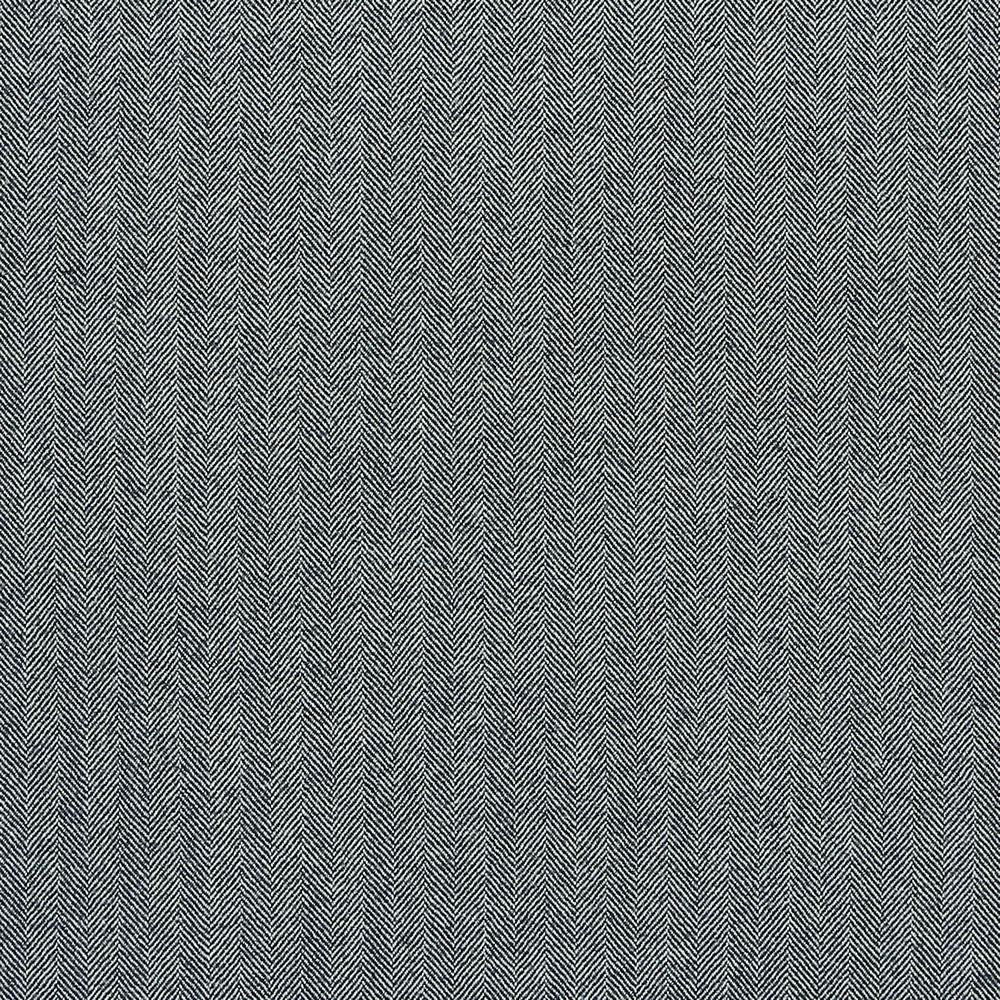 17000 Navy Blue and Grey Herringbone