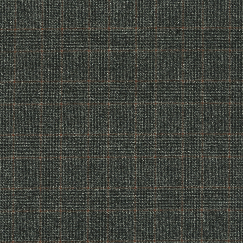 17018 Medium Grey Glen with Guarded Tan Check