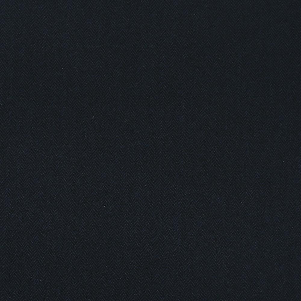 17026 Dark Navy Blue Herringbone Coating