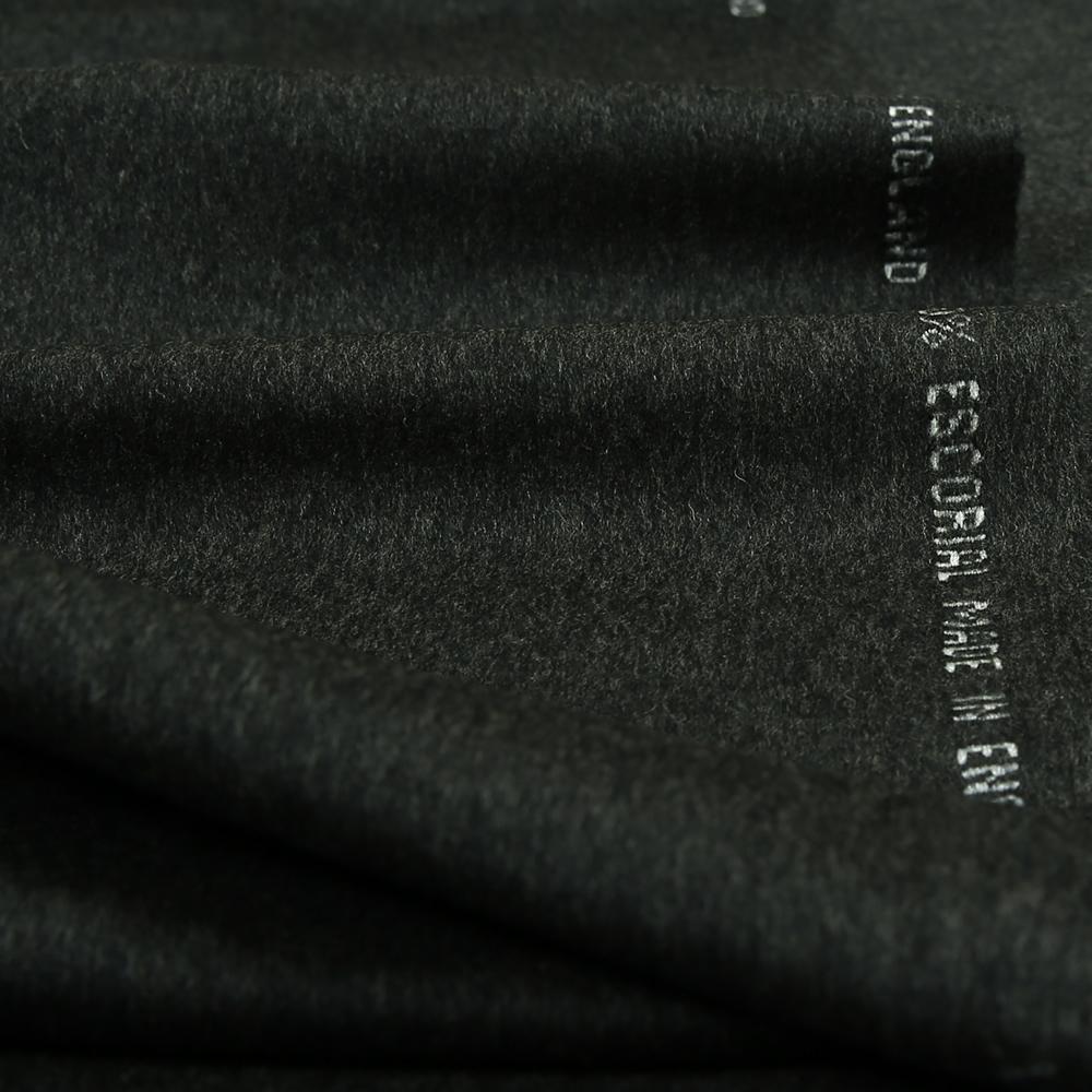 17027 Charcoal Grey Brushed Plain Coating
