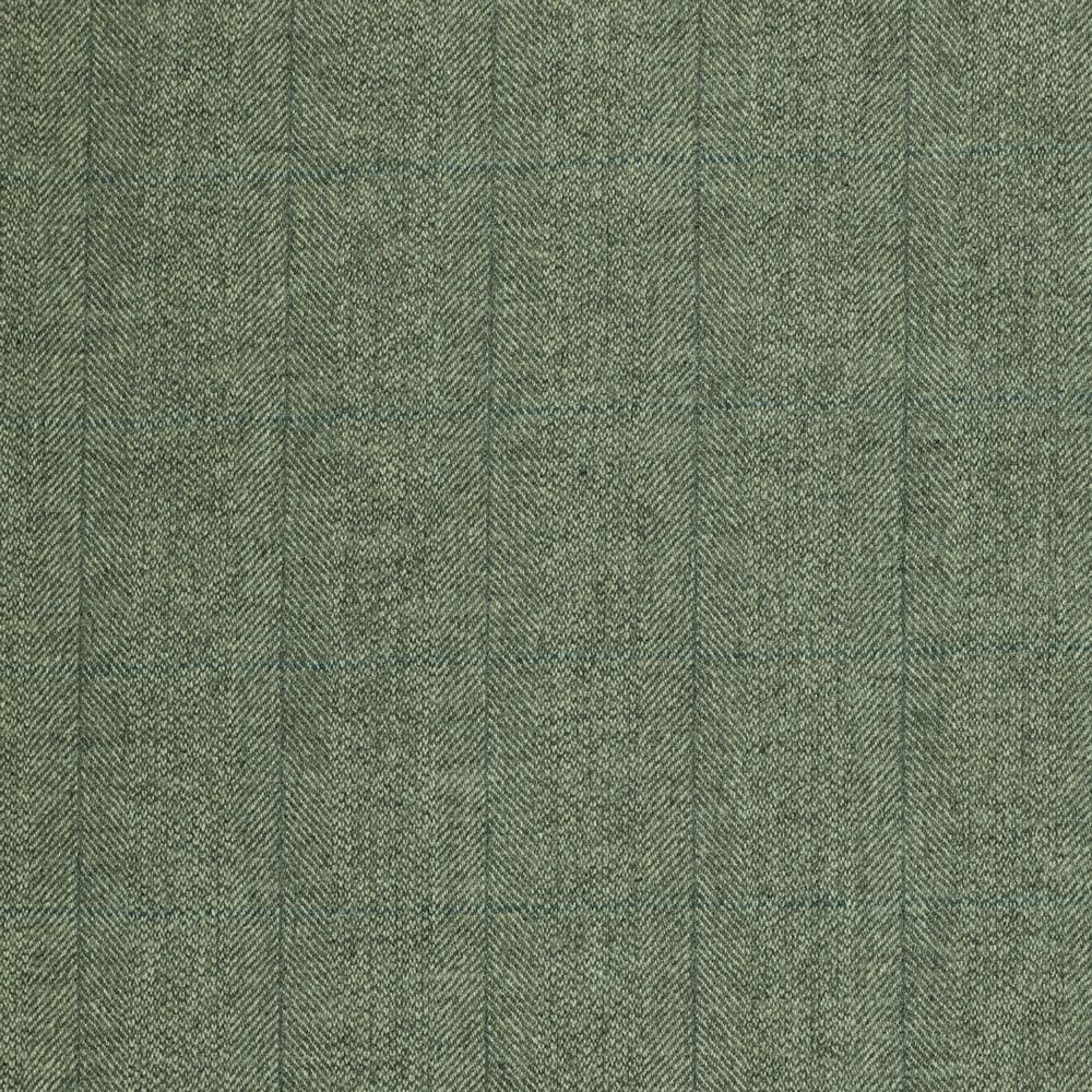 19049 Light Grey Barley Corn Herringbone with Grey/Blue Windowpane Check