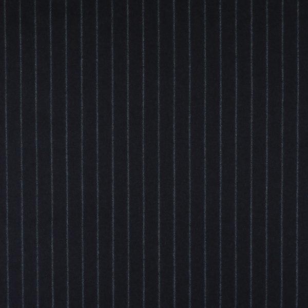 22001 Aubergine Purple Wide Chalk Stripe Flannel