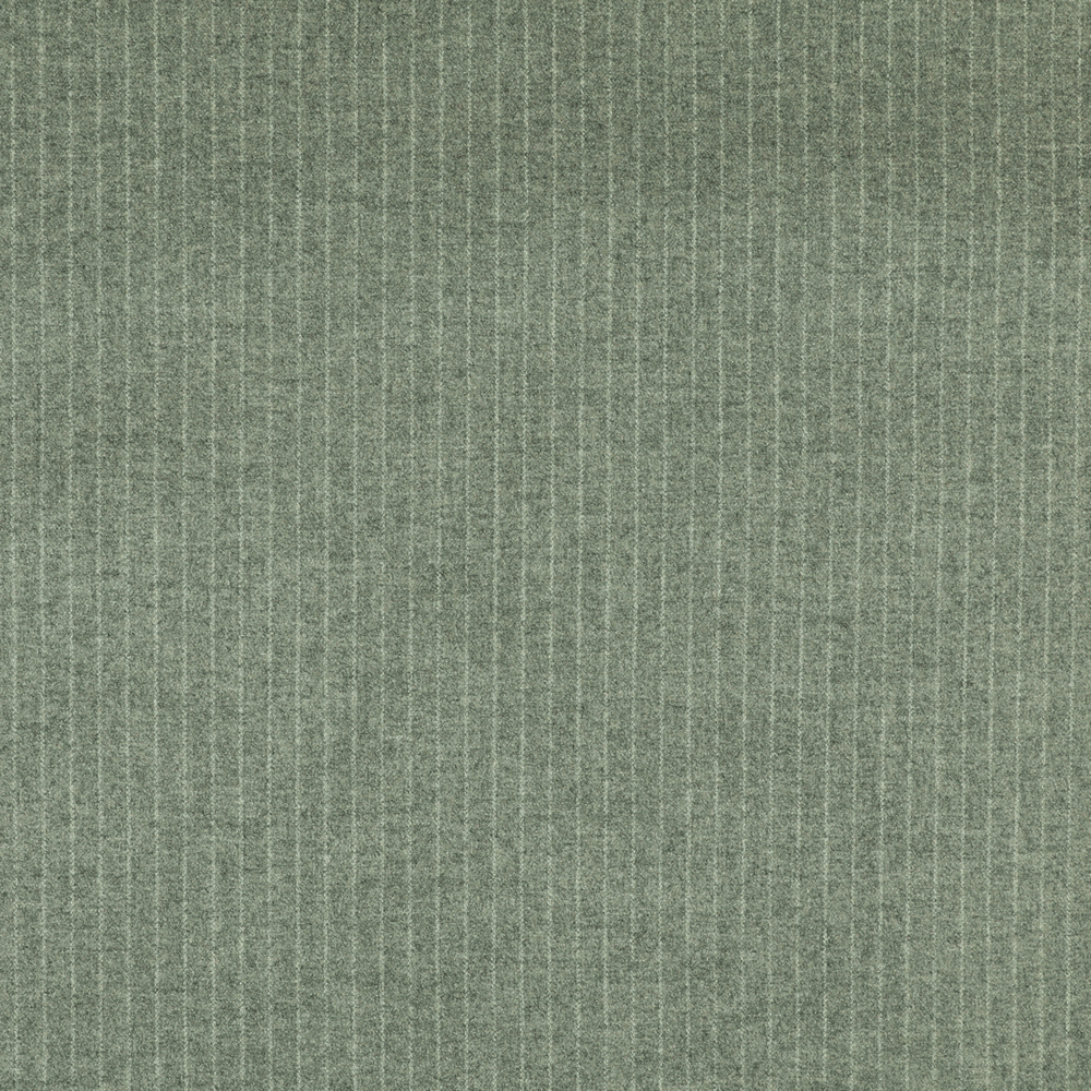22004 Silver Grey Narrow Chalk Stripe Flannel