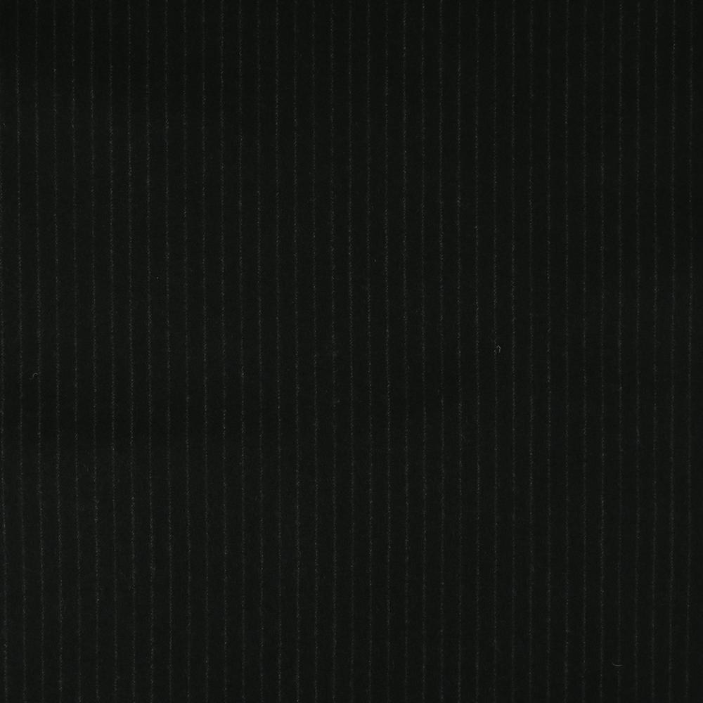 22010 Midnight Blue Narrow Chalk Stripe Flannel