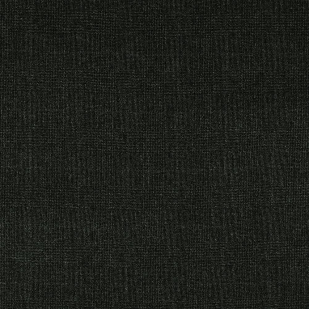 22039 Dark Grey Glen with Purple Windowpane Check Flannel