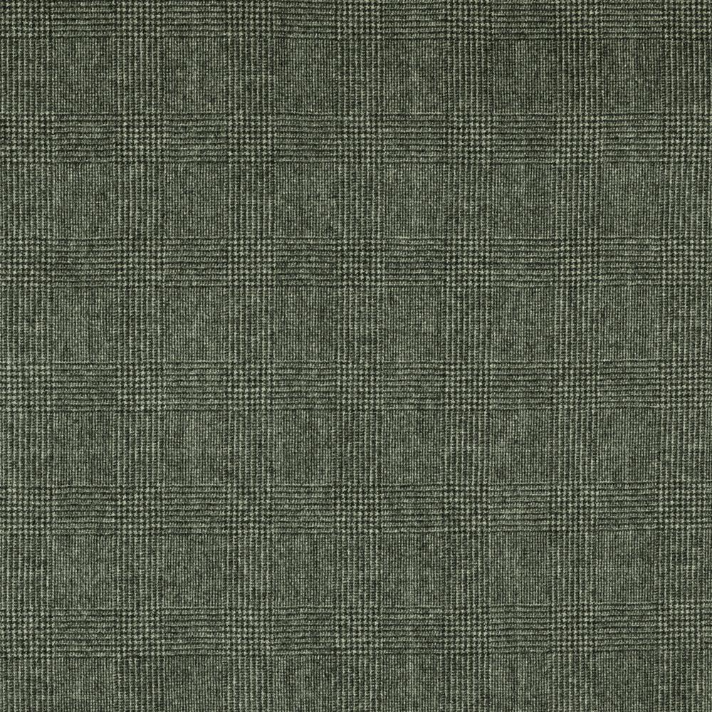 22040 Black and White Glen Check Flannel