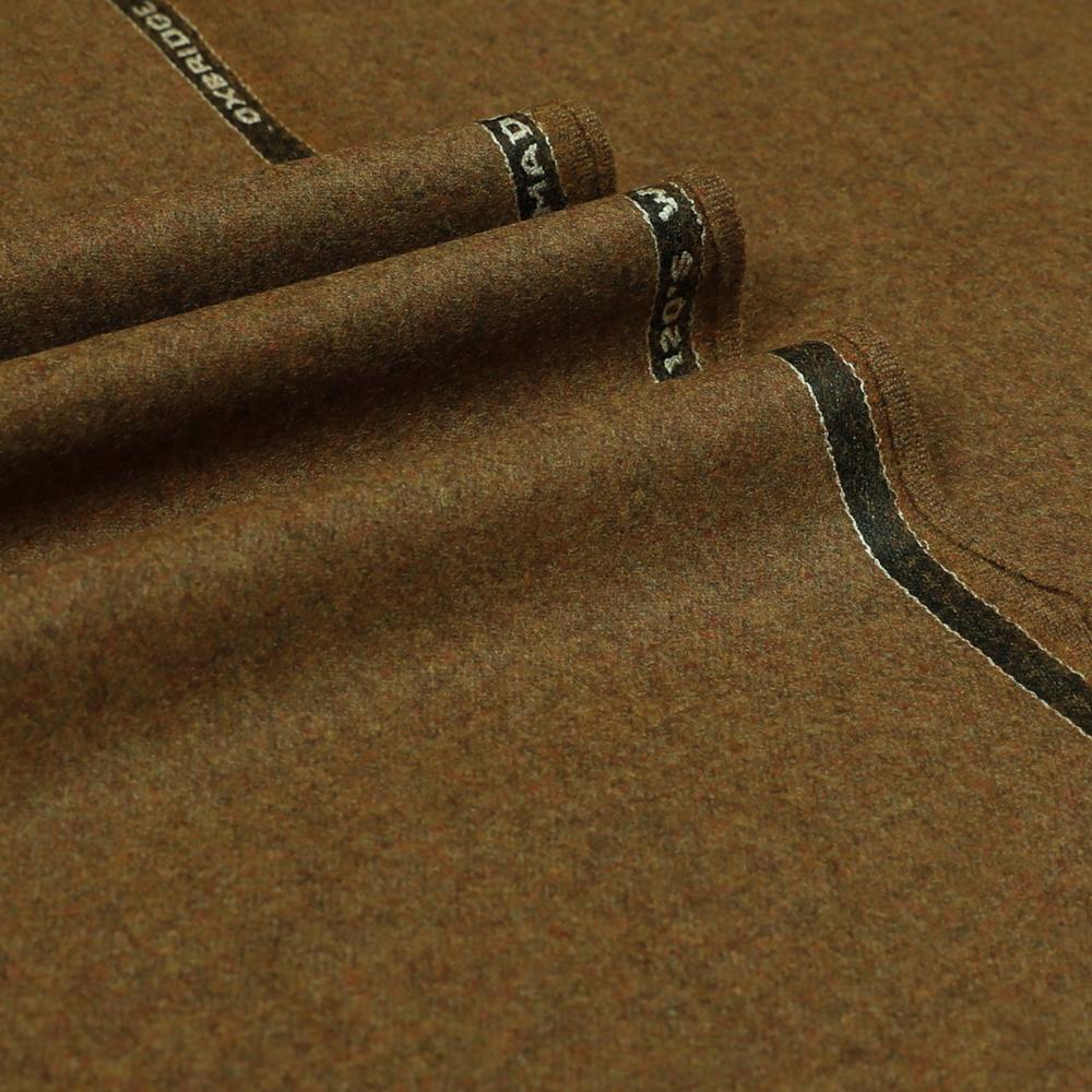 22051 Tan Brown Plain Flannel