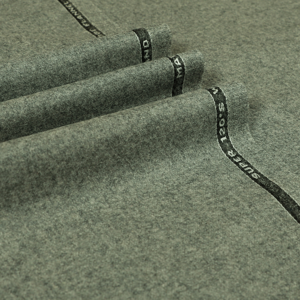 22070 Light Grey Plain Flannel