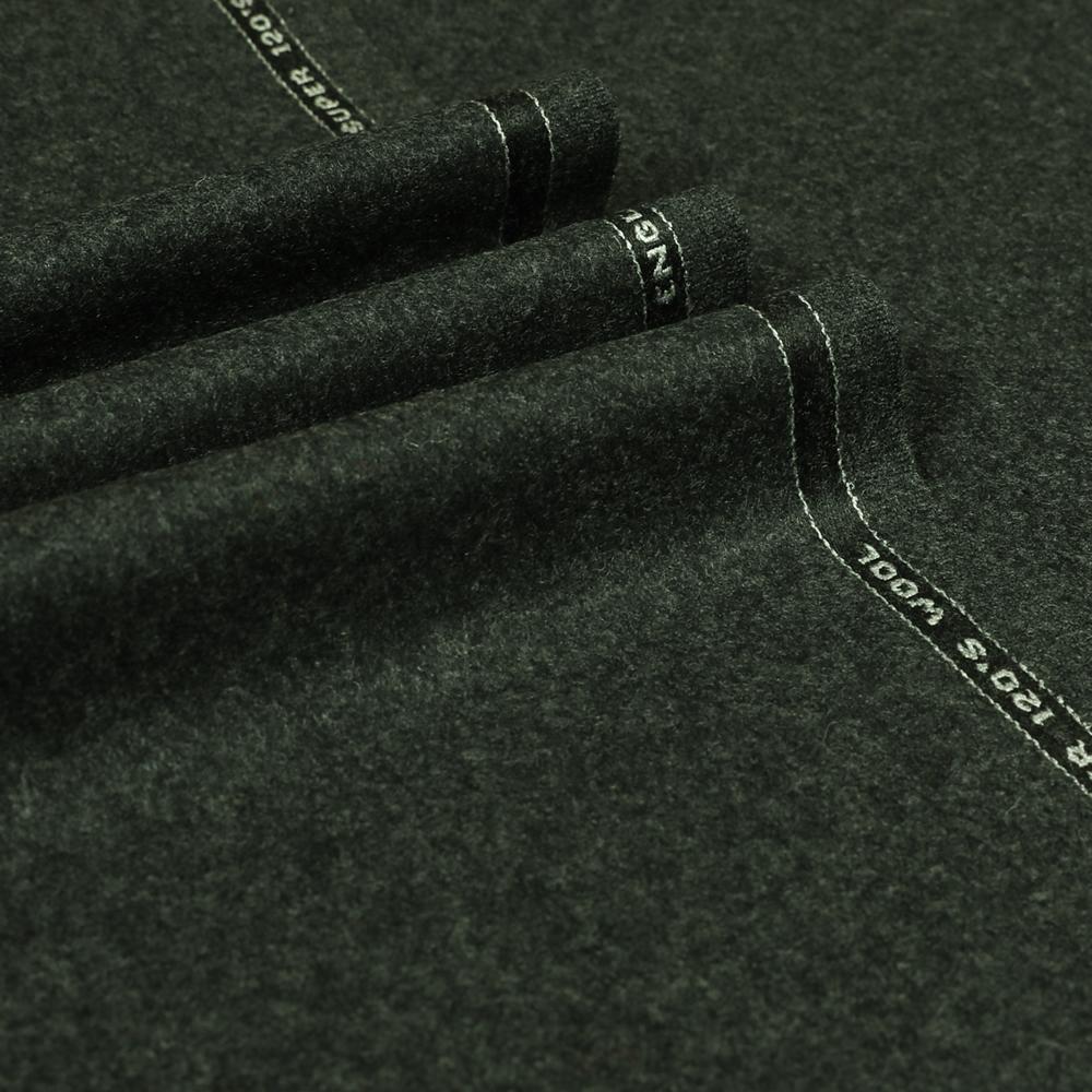 22072 Dark Grey Plain Flannel