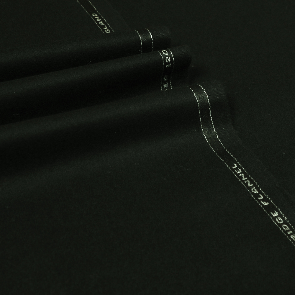 22074 Black Plain Flannel