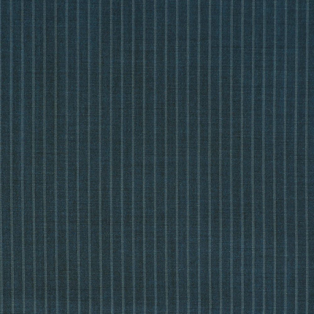 24030 Medium Blue Narrow Stripe