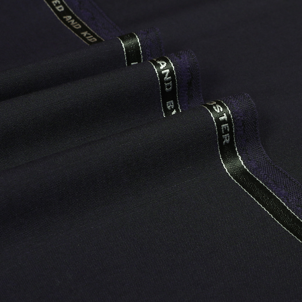24037 Aubergine Purple 2 Tone Plain