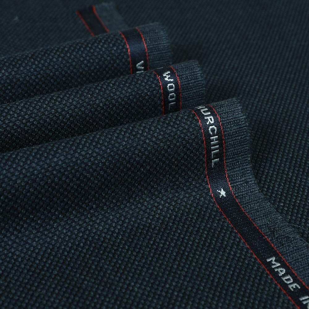25021 Grey Blue Birdseye 2/2 Twill