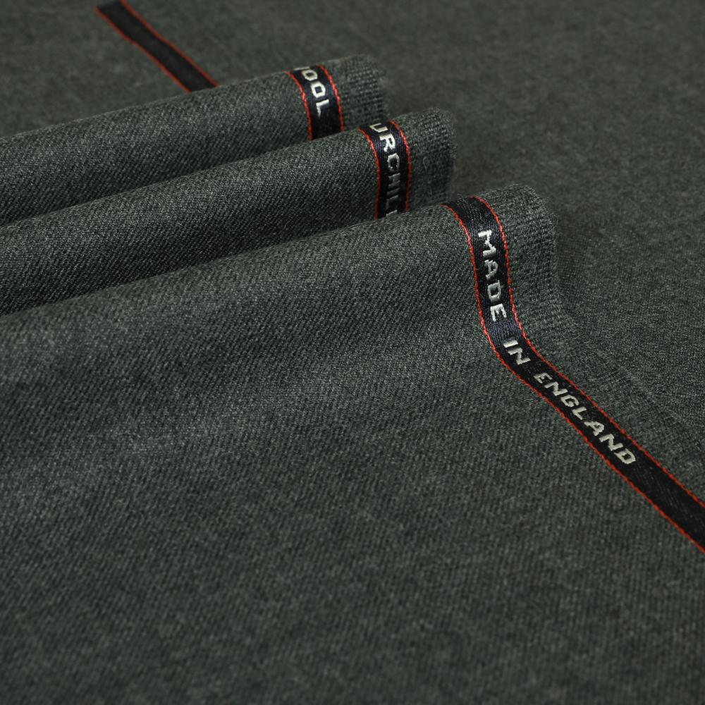 25032 Medium Grey Plain 2/2 Twill