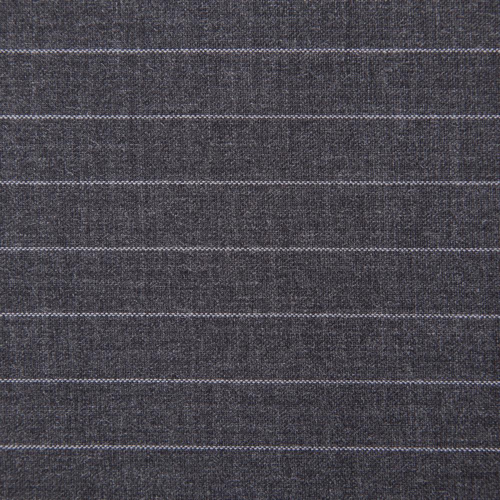27052 Dark Grey Chalk Stripe