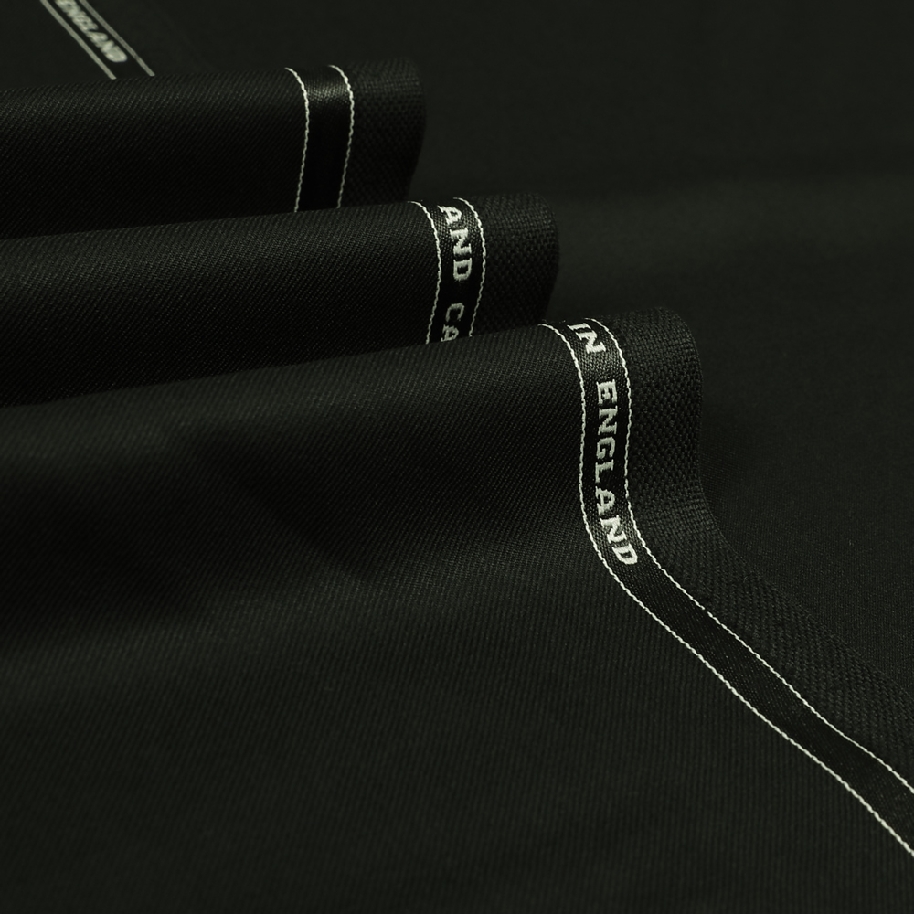 3003 Black Plain Twill