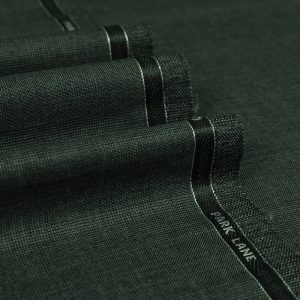 3014 Medium Grey Prince of Wales Check with Blue Overcheck