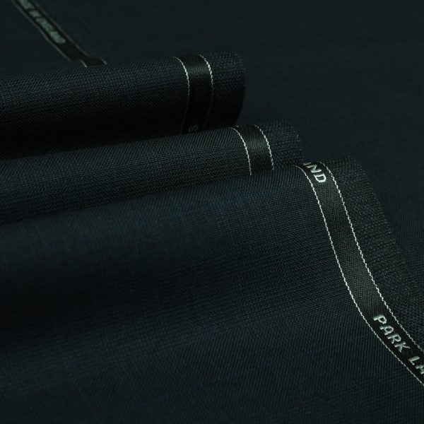 3015 Navy Blue Prince of Wales Check with Blue Overcheck