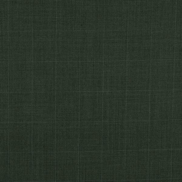 3036 Dark Grey Sharkskin with Blue Windowpane Check