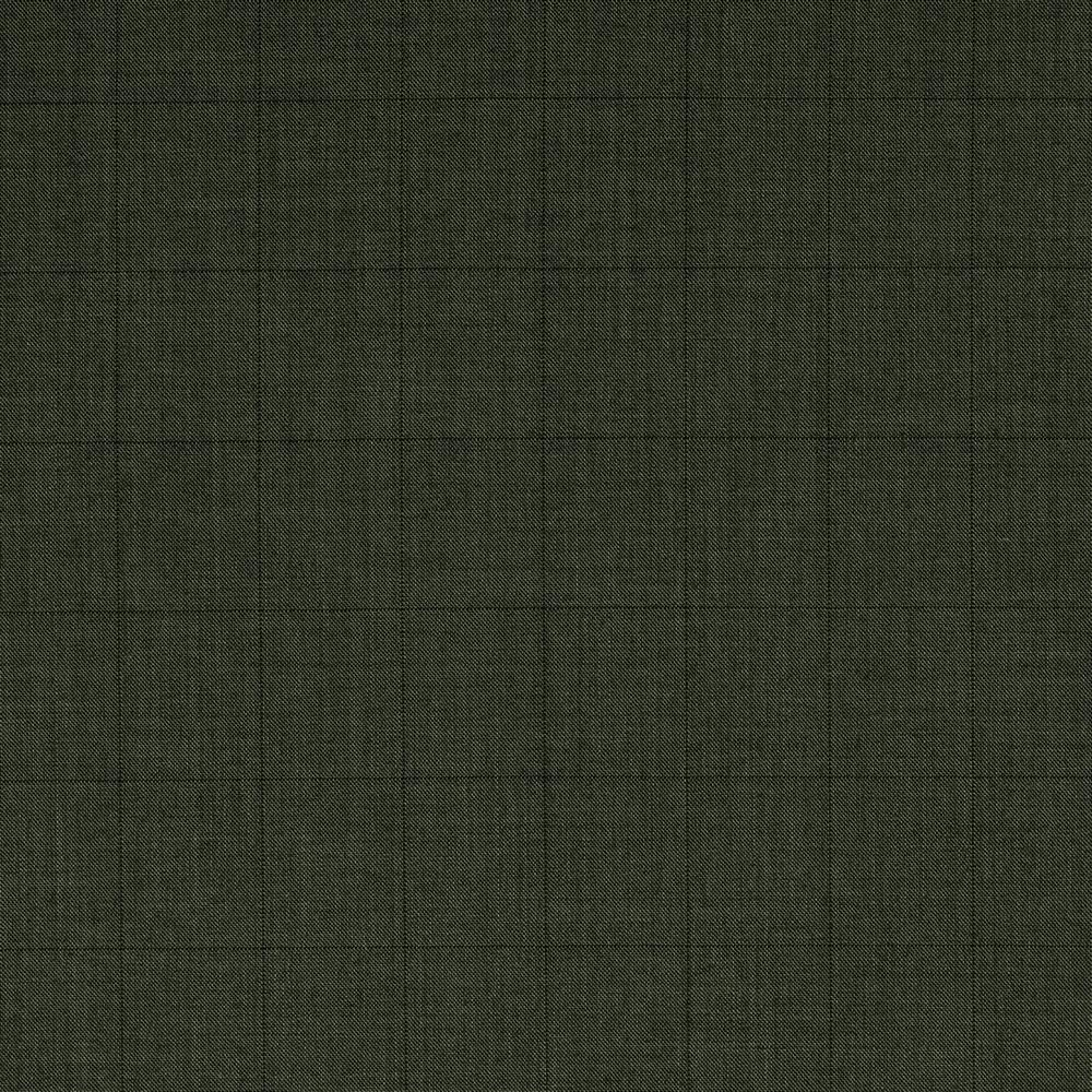 3073 Medium Grey Sharkskin with Black Windowpane Check