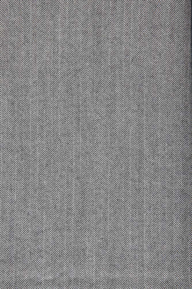 4005 Black & White Herringbone