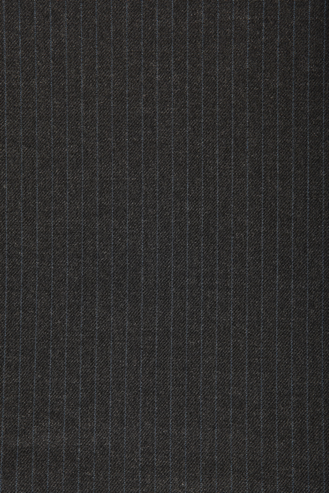 4012 Charcoal Grey with Blue Narrow Stripe