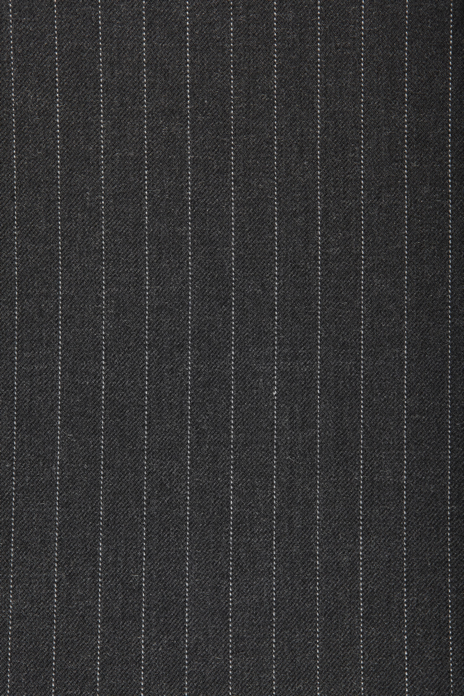 4014 Charcoal Grey Pin Dot Stripe