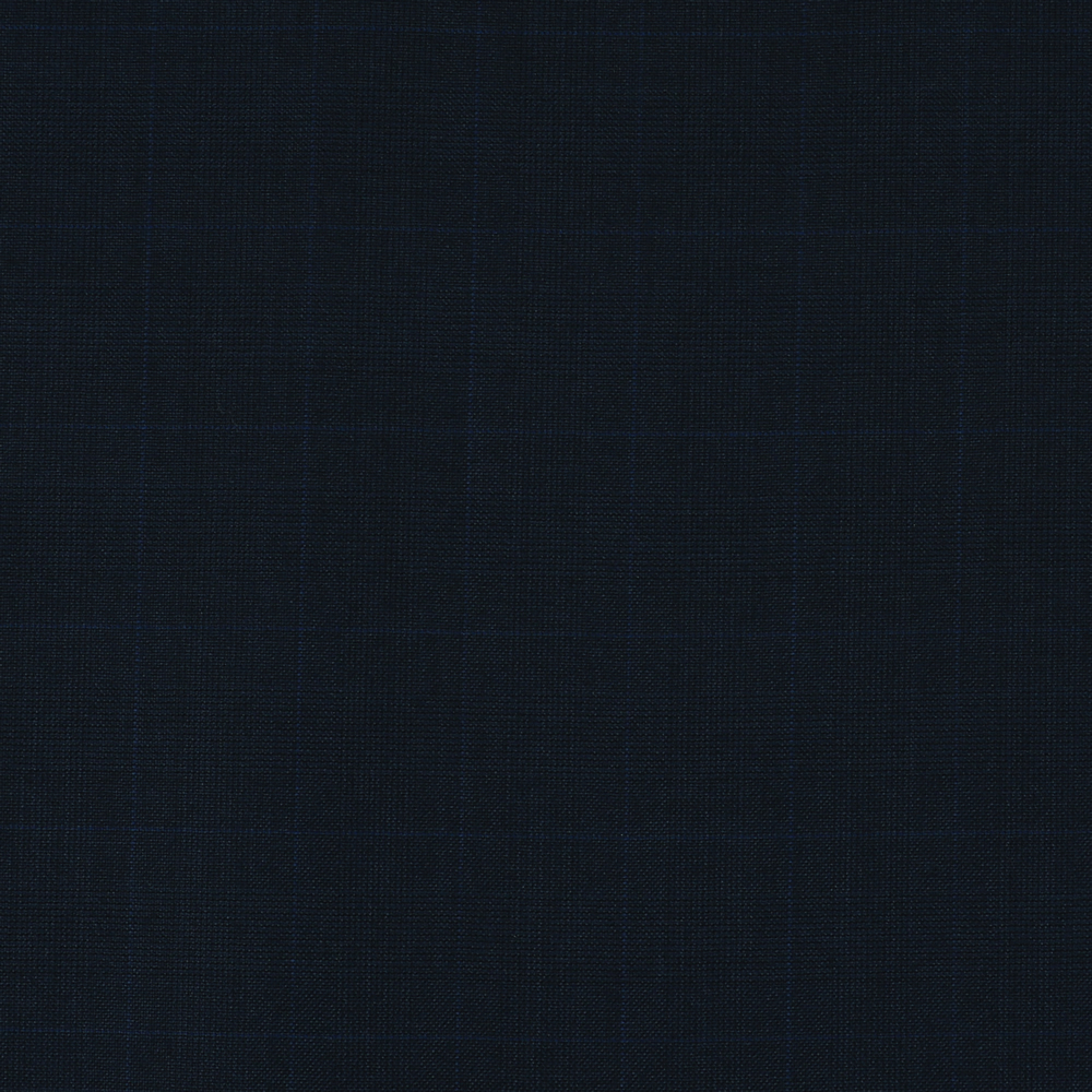 4027 Navy Blue Glen Check