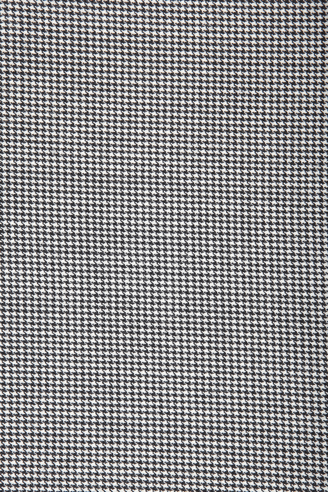 4028 Black and White Houndstooth