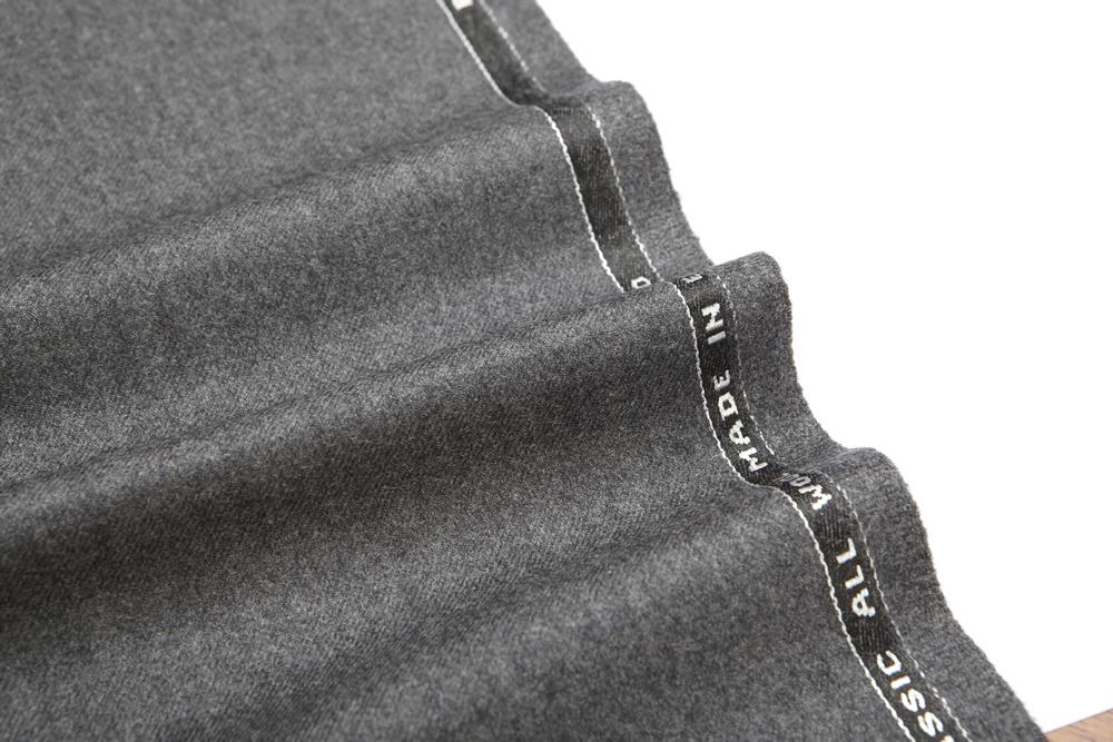 4030 Medium Grey Plain Flannel