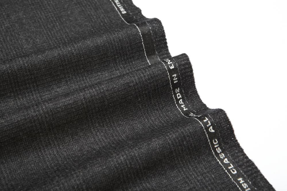 4038 Charcoal Grey Glen Check Flannel