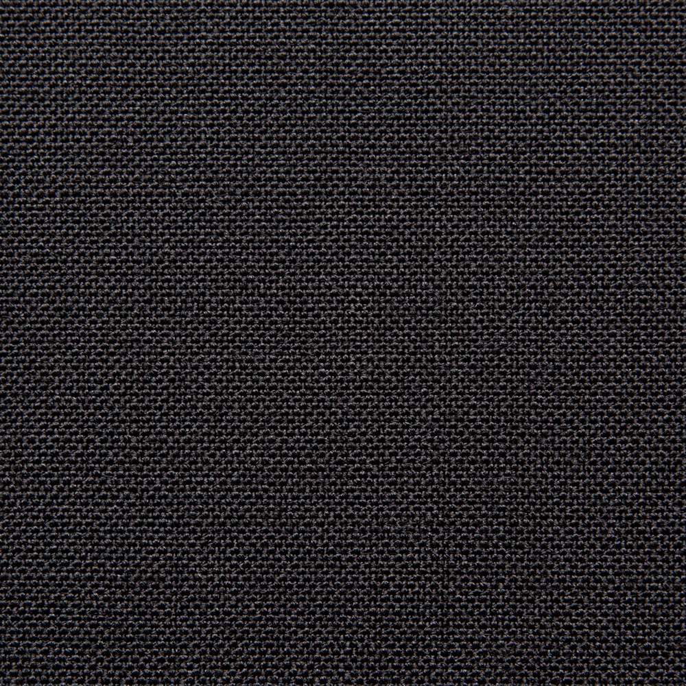 6014 Black 2 Ply Plain