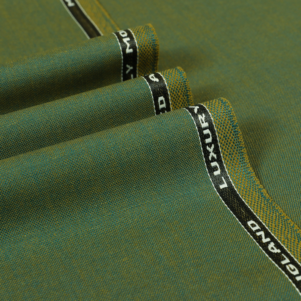 6038 Green 2 Tone 2 Ply Plain