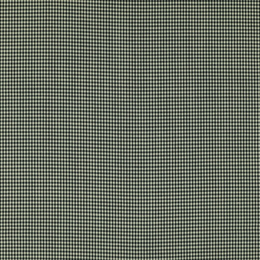 6047 Black and White Small Check 2 Ply