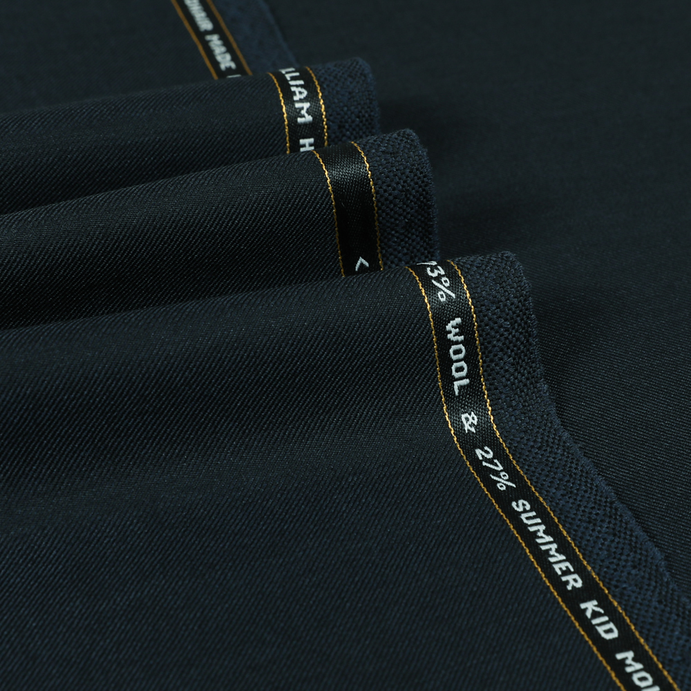 6052 Navy Blue Plain Twill