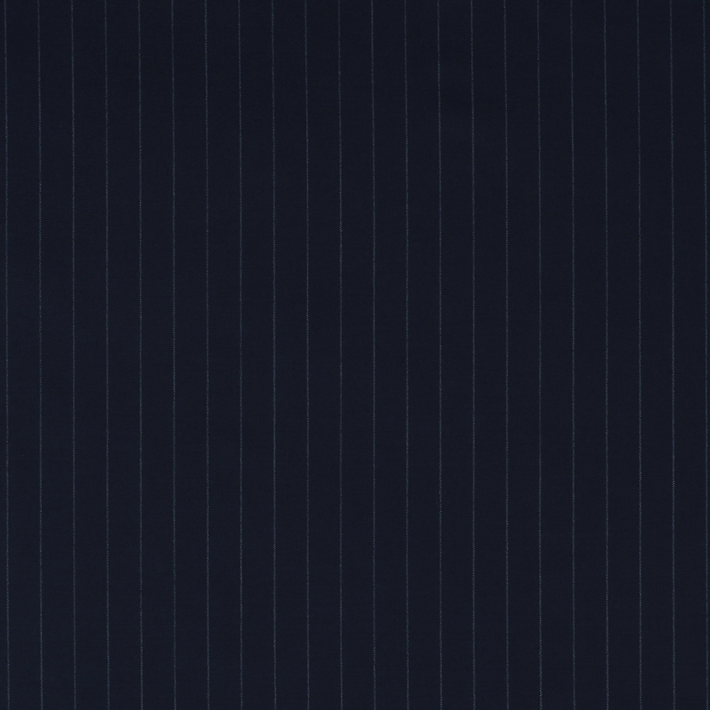 7126 Navy Blue Chalk Stripe